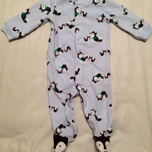 a39dfbf51 Best Child Of Mine By Carter's 9m Wolf Footsie Onesie for sale in  Hendersonville, Tennessee for 2019