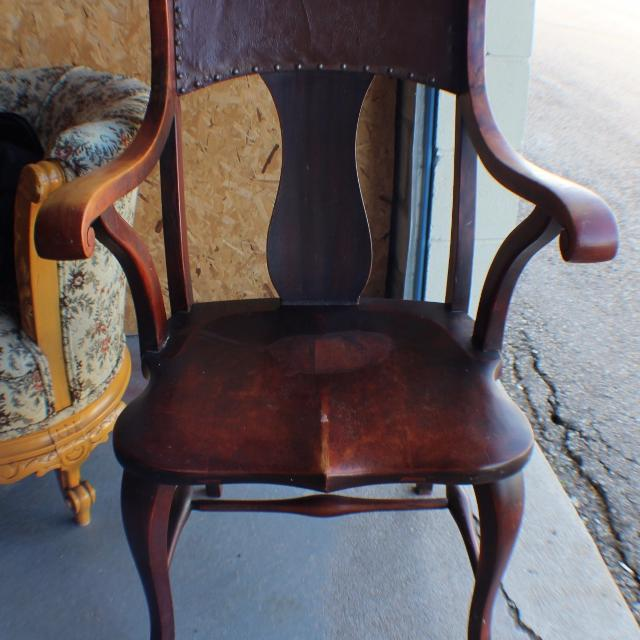 Antique F H Conant's Sons Wood Arm Chair Camden NY Circa 1900 - Find More Antique F H Conant's Sons Wood Arm Chair Camden Ny Circa