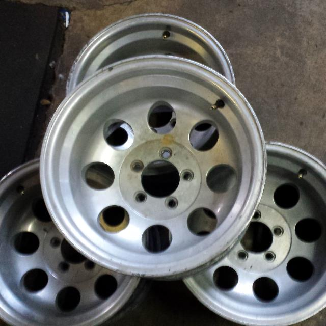 Find more Micky Thompson 15x10 Jeep Wheels Bolt Pattern Is 5x4.5 for
