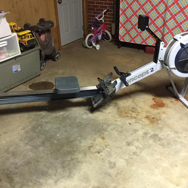 Used Concept 2 Rower >> Concept 2 Rower