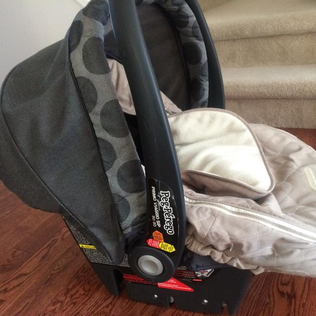 Best Peg Perego Primo Viaggio Sip 30 Car Seat With Base Jj Cole Bundle Me And Stroller Attachments For In Richmond Hill Ontario 2019