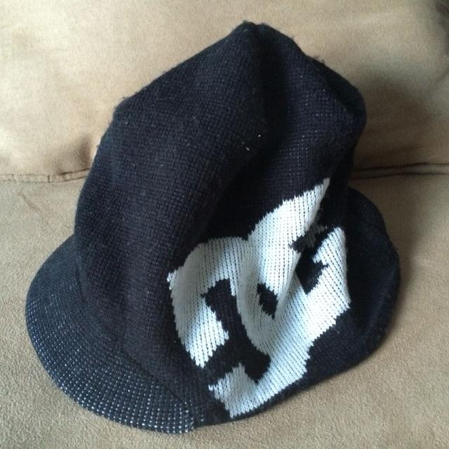 Find more Dc Knit Winter Hat. Worn But In Good Shape. Black And ... 6d4d4d363196