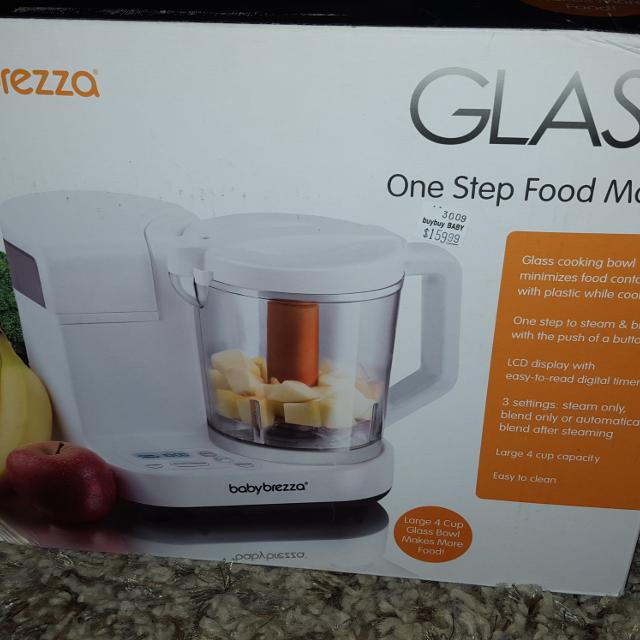 ec50e7e1c709 Baby Brezza® Glass One Step Baby Food Maker. Retails For  160 for sale in  Rochelle