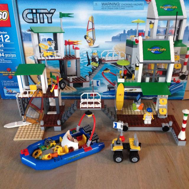 Find More Lego City 4644 Marina Retired All Instructions And