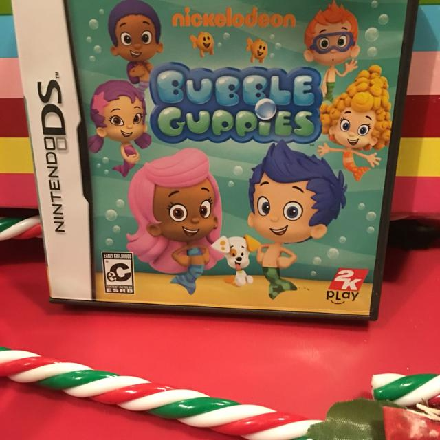 Bubble Guppies Interactive Nintendo DS Game