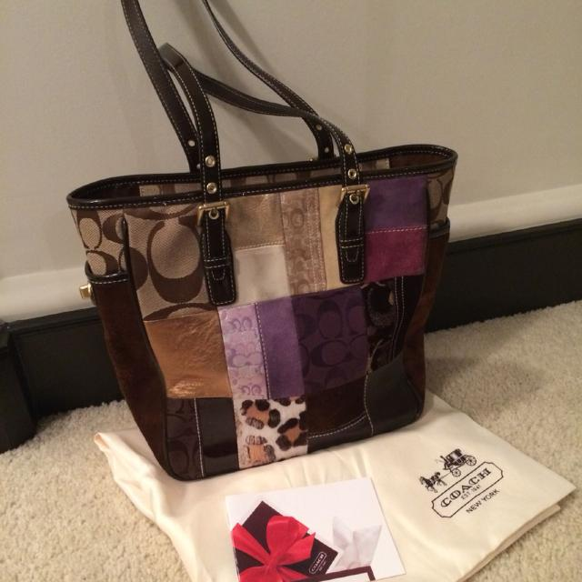 38423b7ac25 Best Coach Patchwork Leather Handbag for sale in North Delta, British  Columbia for 2019