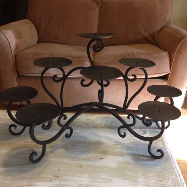 Find More Black Iron Swirl 8 Plate Candle Holder From Hobby Lobby