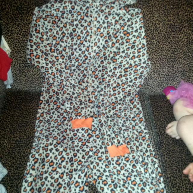 Best Onezy Suit Pu Today For 15 Leopard Print With Ears Warm For
