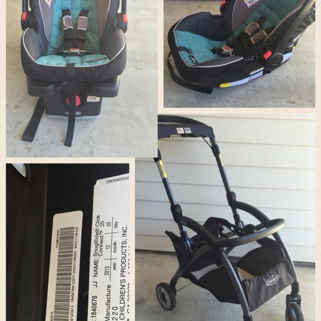 Find more Graco Infant Car Seat With Base, Frame Stroller, Extra ...