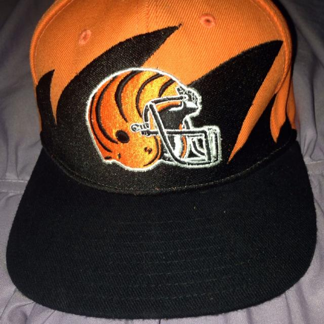 new arrival d33fe 9b4f7 Cincinnati Bengals snapback, vintage Mitchell and Ness from nostalgia co.