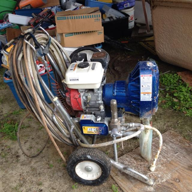 Commercial grade paint sprayer  Used very little  Honda engine  Call David  803-460-5460  $1500 OBO