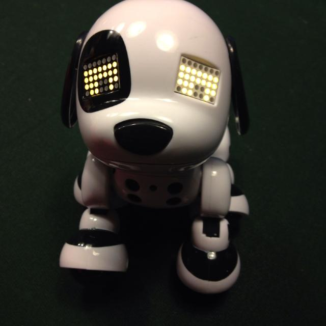 Find More Zoomer Interactive Mini Puppy Euc No Instructions But
