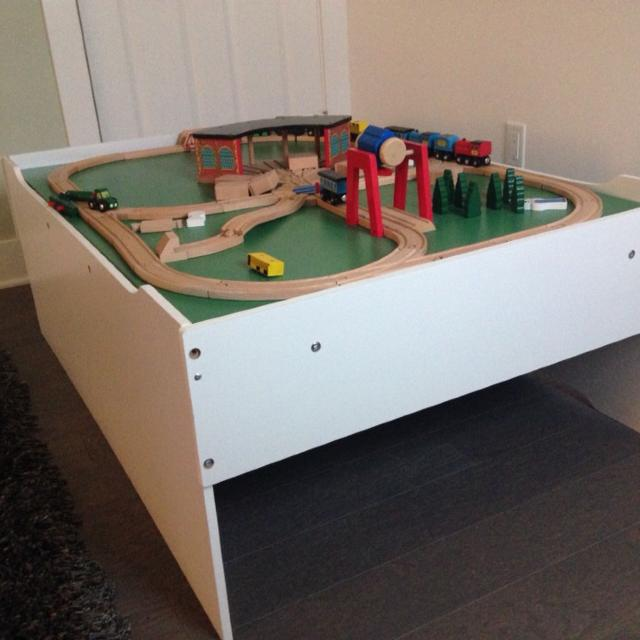 Best Melissa And Doug Train Table And Train Set for sale in Austin ...