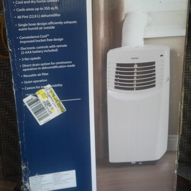 Find More Bnib Danby 8500 Btu Portable Air Conditioner For Sale At