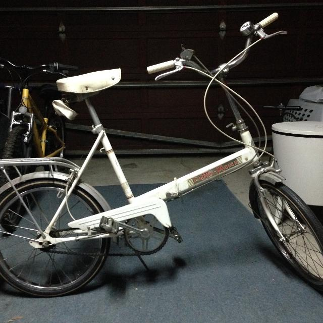 Find More Vintage Auto Mini Folding Bike For Sale At Up To 90 Off