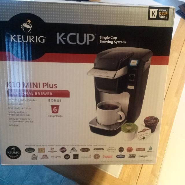 Find More Keurig K10 Mini Plus Coffee Brewer No K Cups Included