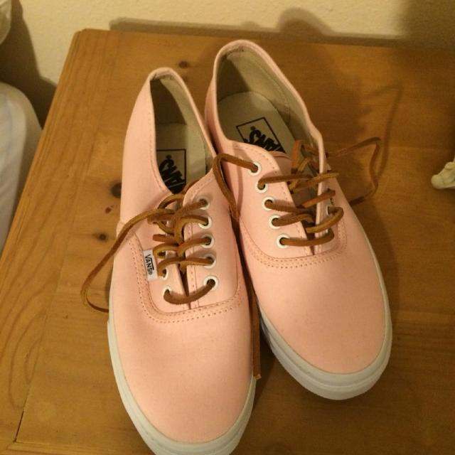 1fd927d71f Find more Light Pink salmon Vans for sale at up to 90% off