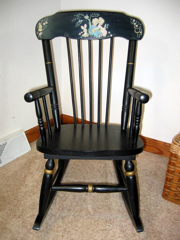 Best Vintage Child S Rocking Chair W