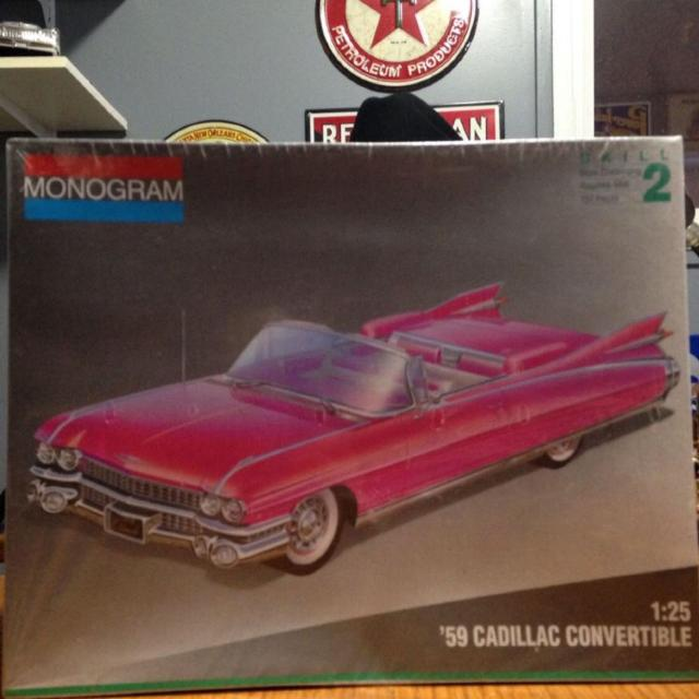 Best 1959 Cadillac Convertible Model Kit For Sale In Regina