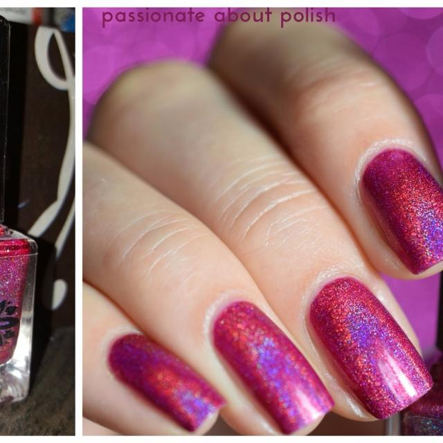 Find more Nail Polish - Emily De Molly Maddy\'s Magenta Holographic ...
