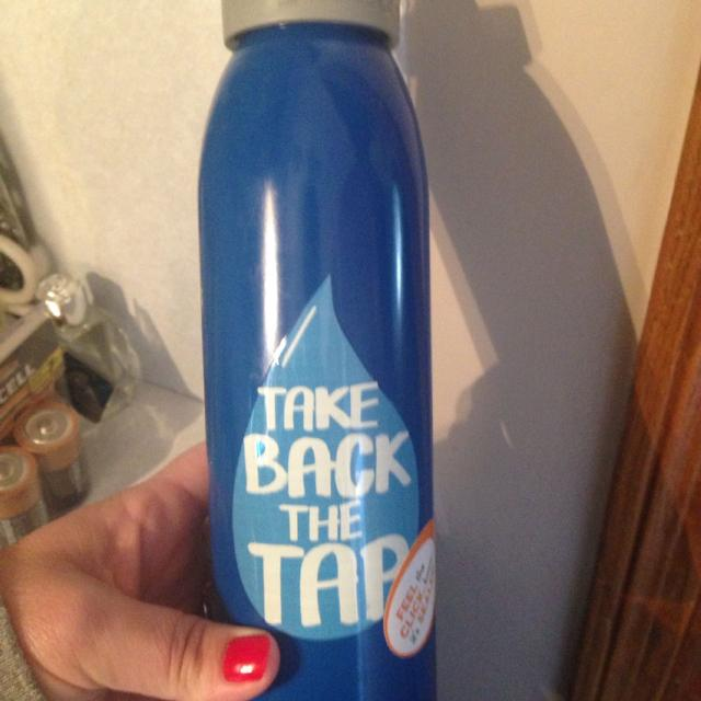 Lush water bottle - never used