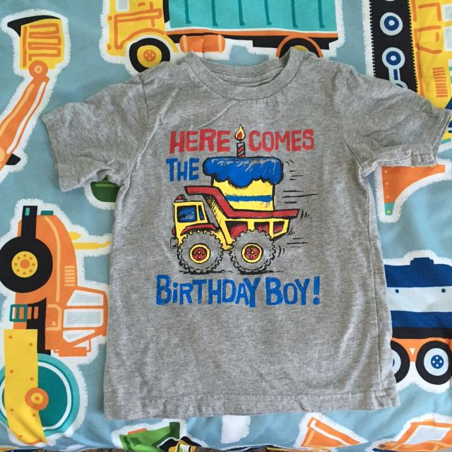 Boys Childrens Place 4t Worn Once Birthday Shirt