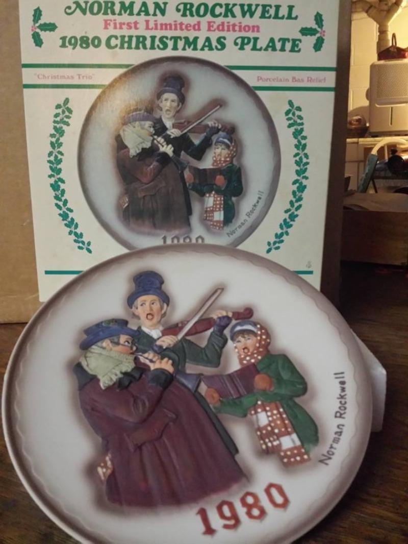 Best Norman Rockwell First Limited Edition 1980 Christmas Plate for ...