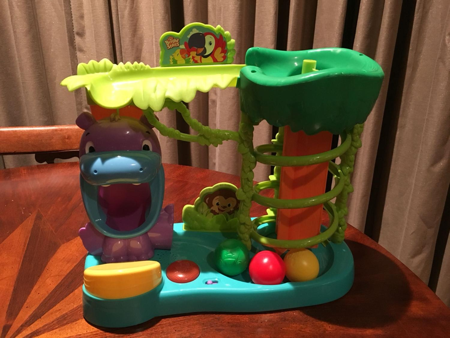 Find more Playskool Toddler Toy. Balls Pop Out Of Hippo Then Bounce ...
