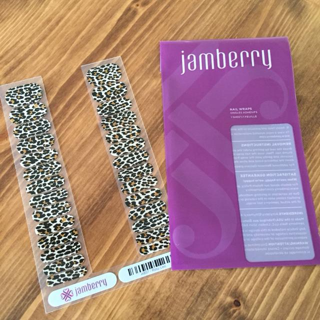 Find More Jamberry Juniors Leopard Print Enough For 2 Manis And