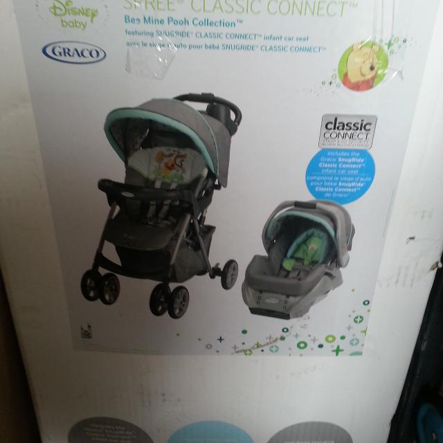 Graco Stroller And Car Seat Winnie The Pooh