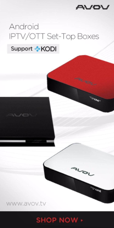 Android/IPTV/OTT Set-Top Box by Avov Technology