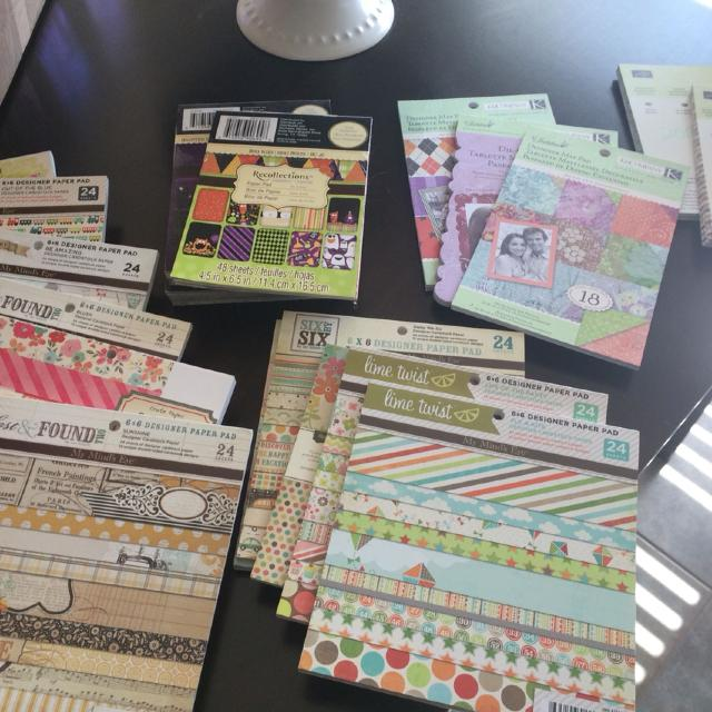 Find More Huge Lot Scrapbook 6x6 Paper And 4x6 Paper For Sale At Up