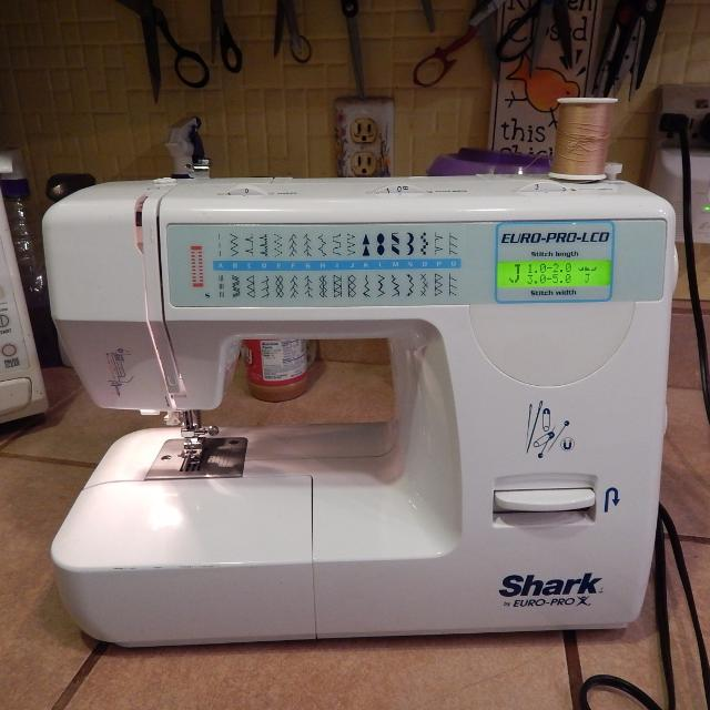 Find More Shark Europro Model 40l Sewing Machine Good Used New Shark By Euro Pro X Sewing Machine
