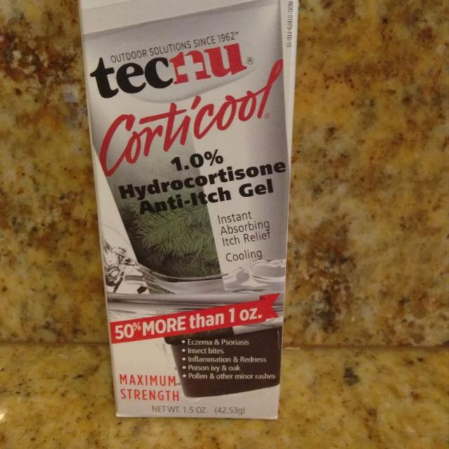 Tecnu Corticool 1 0% Hydrocortisone Anit-Itch Gel Eczema, Insect Bites,  etc~NEW! Factory sealed