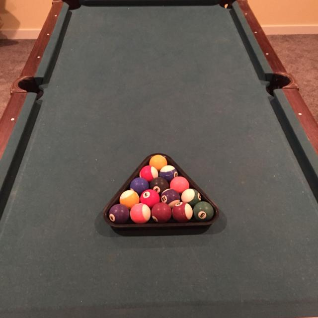 Find More Winnwell Pool Table W X L Not Regulation Comes - Adjustable pool table