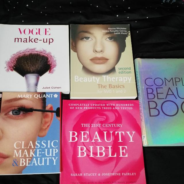 Beauty makeup books vogue  £5 00 each or £20 the lot