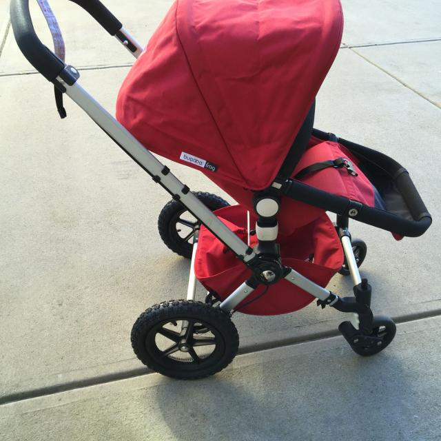 Bugaboo Frog Stroller Includes Infant Bassinetrain Cover Dvd Car Seat Adapters
