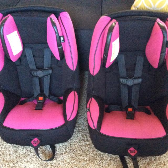 Find more Safety 1st Pink/black Car Seats (2 Avail) for sale at up