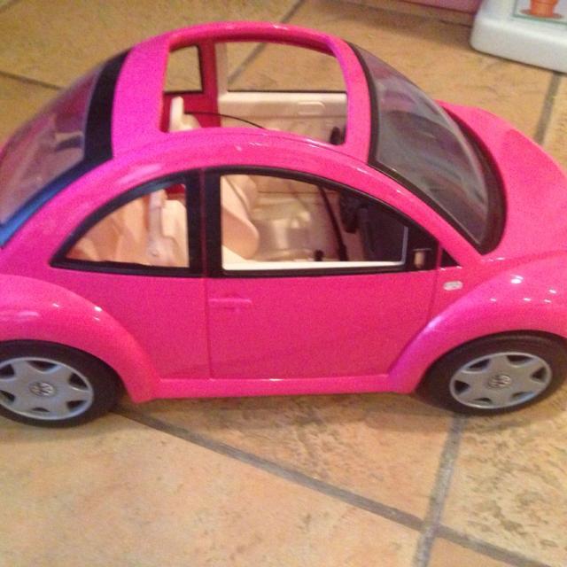 Barbie Love Bug Car