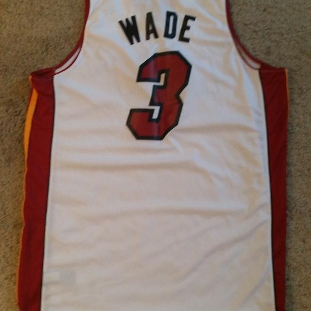 premium selection c9a1d 61aaa D-Wade Jersey
