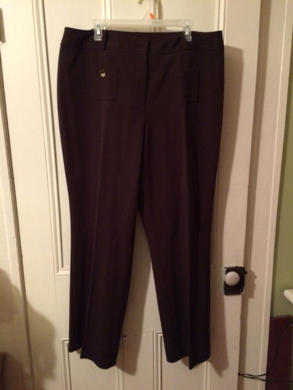 16dc79146a6eaa Best Brown Slacks Size 18. Button Missing On Front Pocket for sale in  Hanover, Ontario for 2019