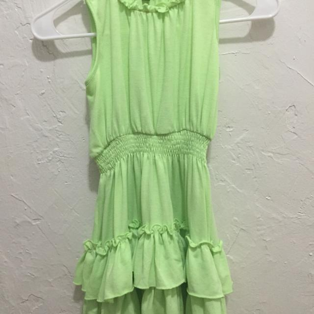 0118892de407 Best Cute Lime Green, Girls Dress. Brand Chillipop. Size 5/6. for sale in  North Miami, Florida for 2019