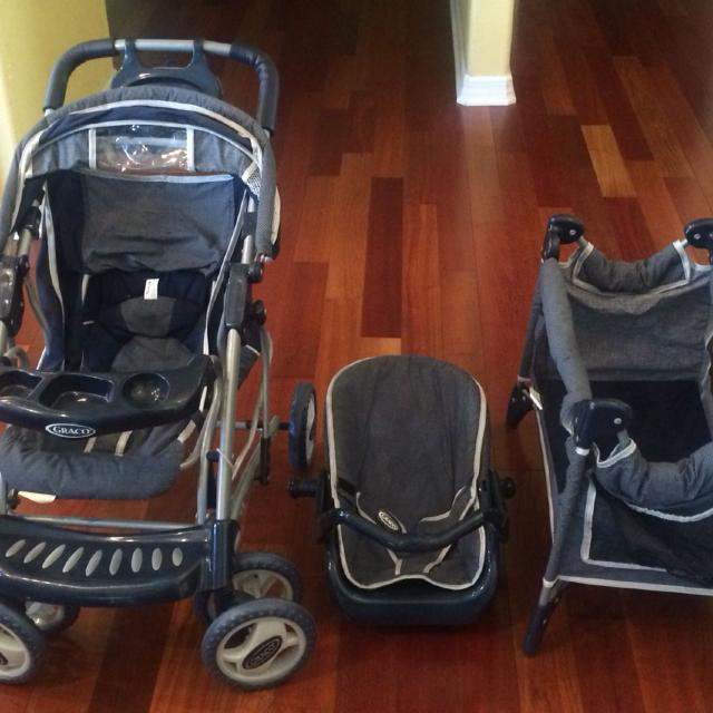 Find more Graco 3piece Baby Doll Stroller Set-used for ...