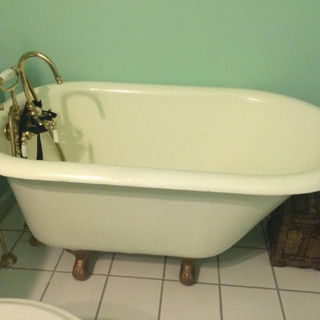 Best 4 Foot Antique Rare Kohler Cast Iron Tub. Sell On Line For ...