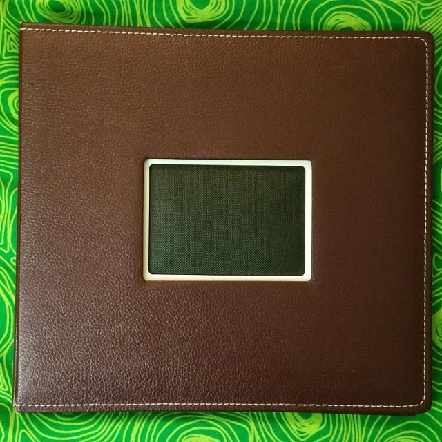 Best Mahogany Brown Faux Leather Scrapbook For Sale In Ottawa