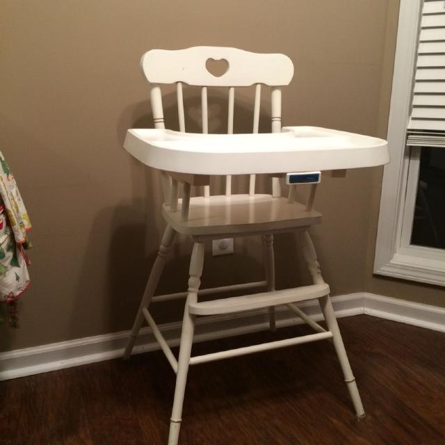 Vintage Fisher Price wooden high chair - Find More Vintage Fisher Price Wooden High Chair For Sale At Up To