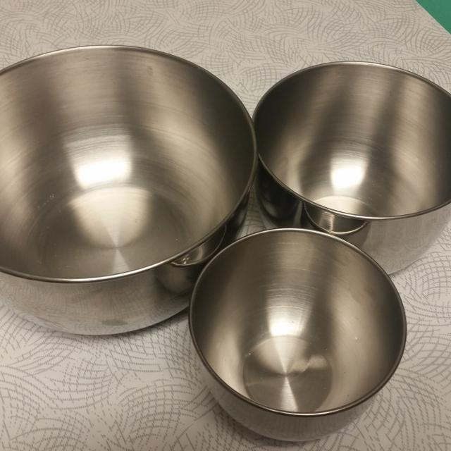 Find more 3 Vintage Stainless Steel Mixing Bowls. Made In Korea. for ...