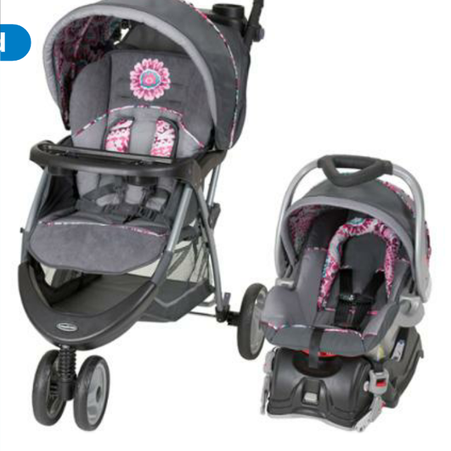 Graco Paisley Stroller And Car Seat Combo