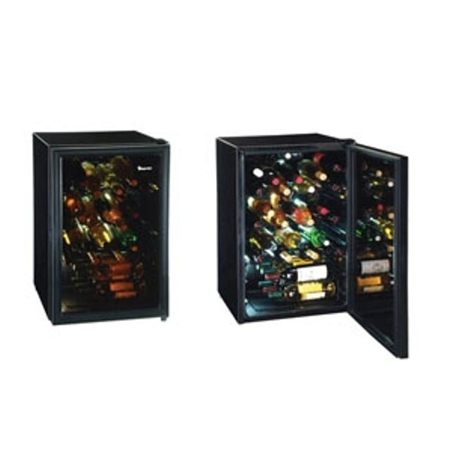 52 bottle wine cooler  Magic Chef  Adjustable shelves and thermostat  32