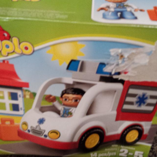 Find More Lego Duplo 14 Pieces Ambulance Sealed For Sale At Up To 90